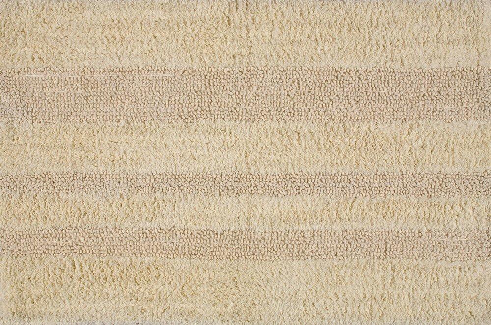DELHI koupelnová předložka, 50x80 cm, 100% bavlna, oboustranná, béžová
