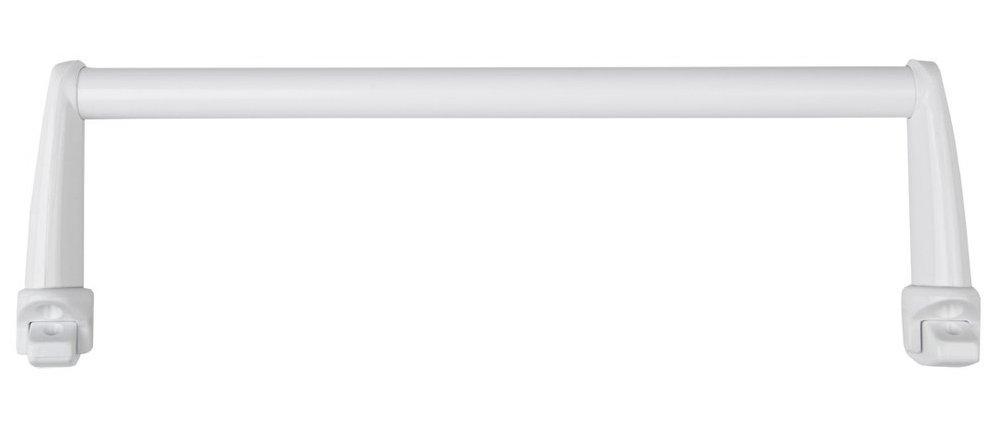 Sušák ručníků na otopná tělesa 46 cm rovný, bílá
