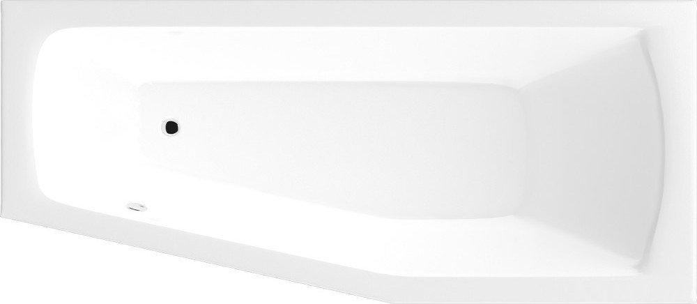 OPAVA vana 170x70x44cm bez nožiček, pravá, bílá