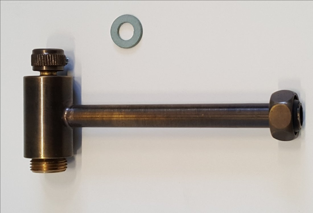 Napouštěcí kohoutek pro mechanismus 754593, bronz
