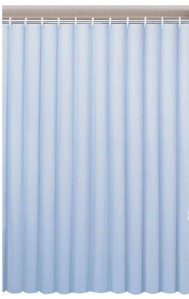 Závěs 180x200cm, vinyl, modrá