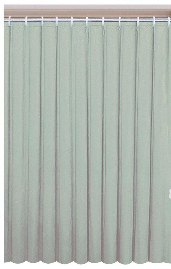 Závěs 180x200cm, vinyl, zelená