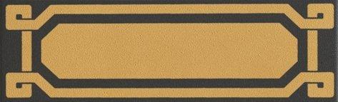 OLD ENGLAND Listello Black Leeds 6x20