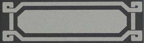 OLD ENGLAND Listello Black London 6x20