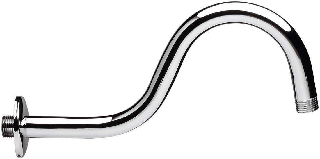 Sprchové ramínko 300 mm, chrom, tvar S