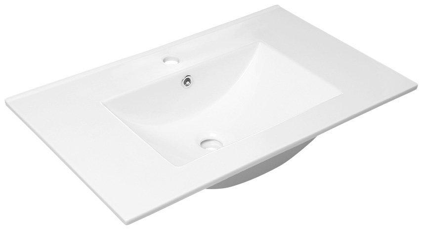 SLIM keramické umyvadlo 76,5x46cm, nábytkové