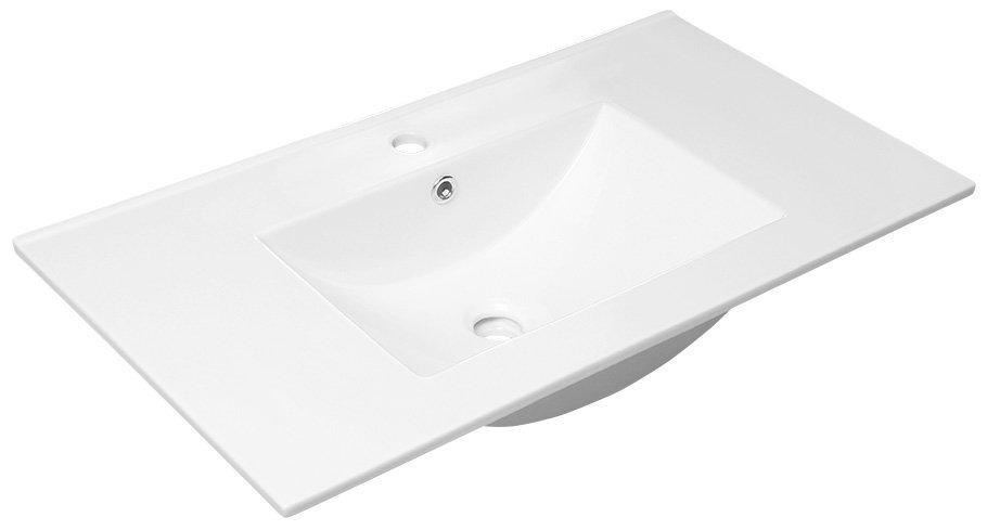 SLIM keramické umyvadlo 90x46cm, nábytkové