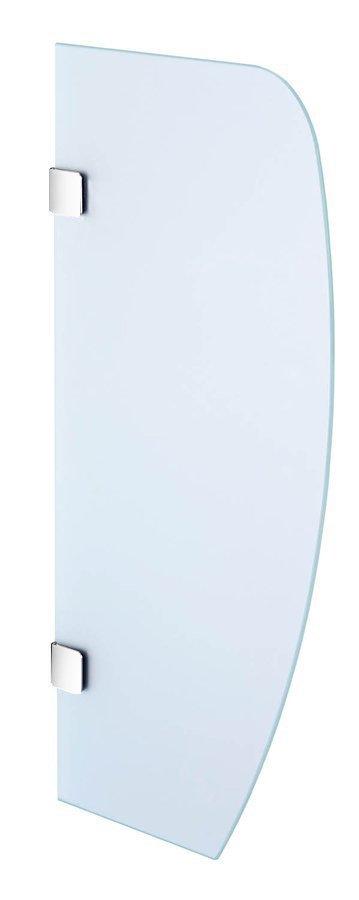 Oddělovací stěna mezi urinály 40x80 cm, sklo mat