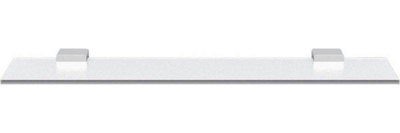 EVEREST skleněná polička 600mm, chrom
