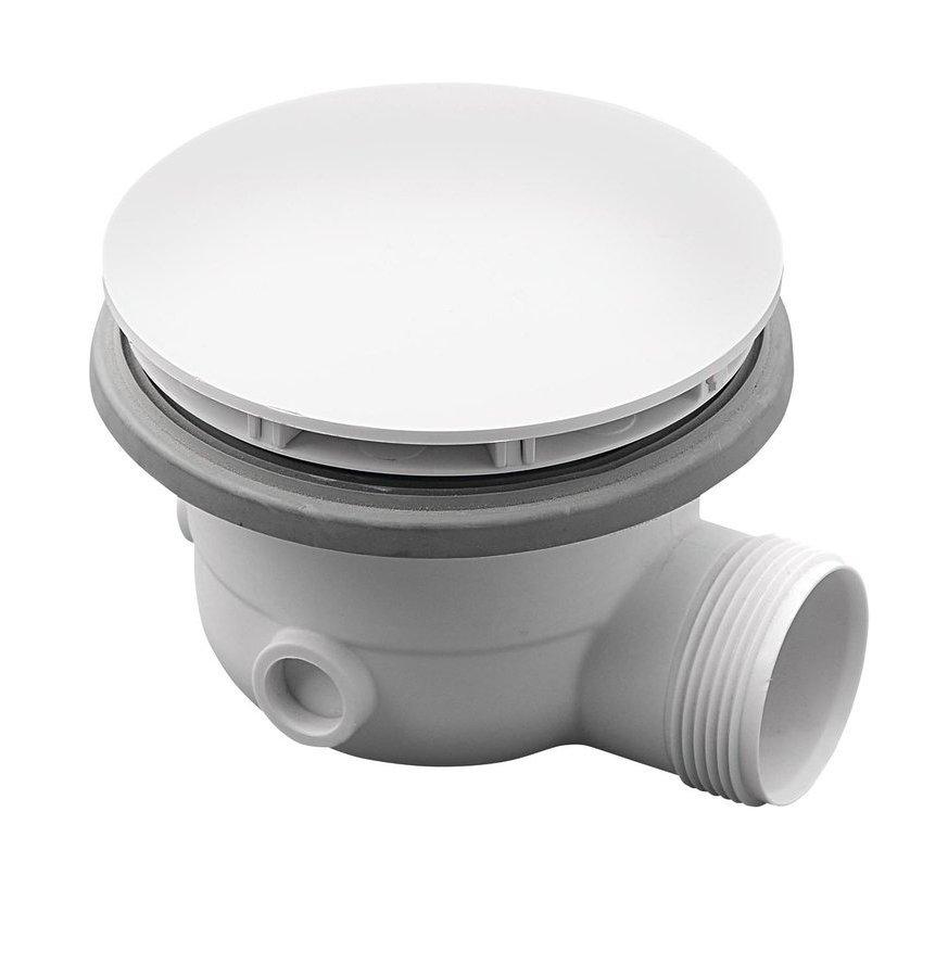 Vaničkový sifon, průměr otvoru 90mm, DN40, pro vaničky MIRAI, ABS, bílá