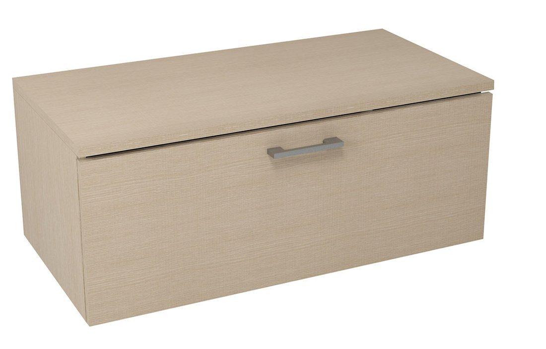 MAKALA skříňka s vrchní deskou 89,5x35x45,2 cm, dub benátský