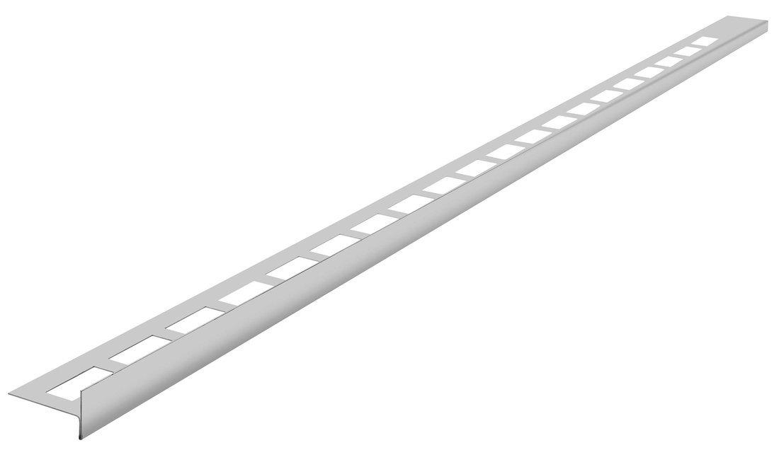 Spádová lišta, levá, výška 12 mm, délka 1200 mm, nerez