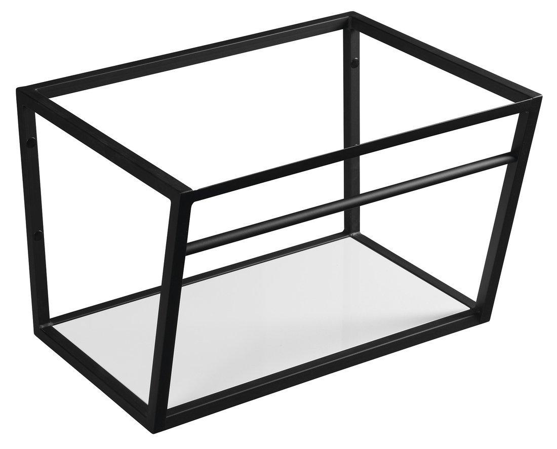 SKA konstrukce s policí 600x400x460mm, černá mat