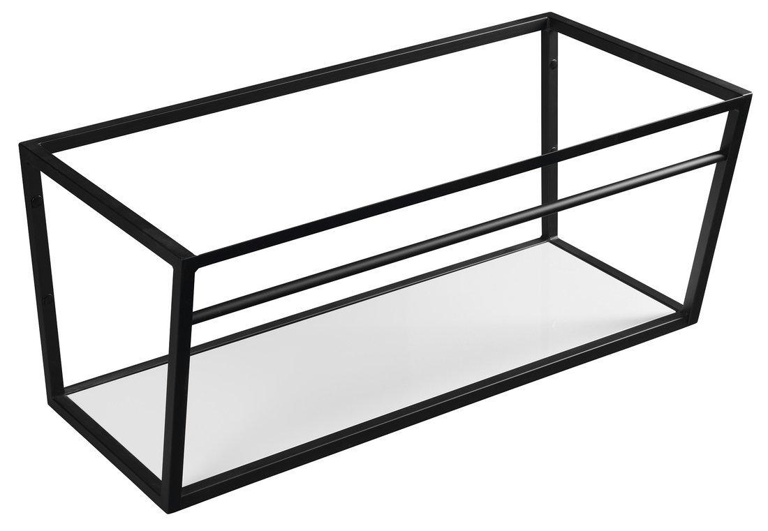 SKA konstrukce s policí 900x400x460mm, černá mat