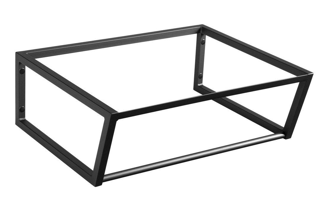 SKA konstrukce pod umyvadlo 600x200x460mm, černá mat
