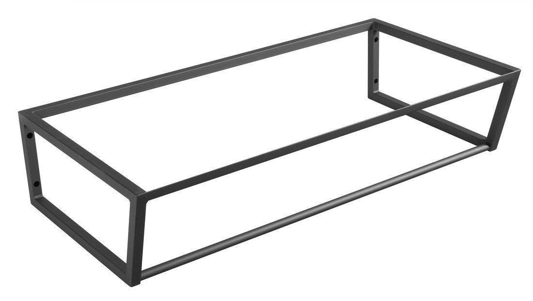 SKA konstrukce pod umyvadlo/desku 900x200x460mm, černá mat