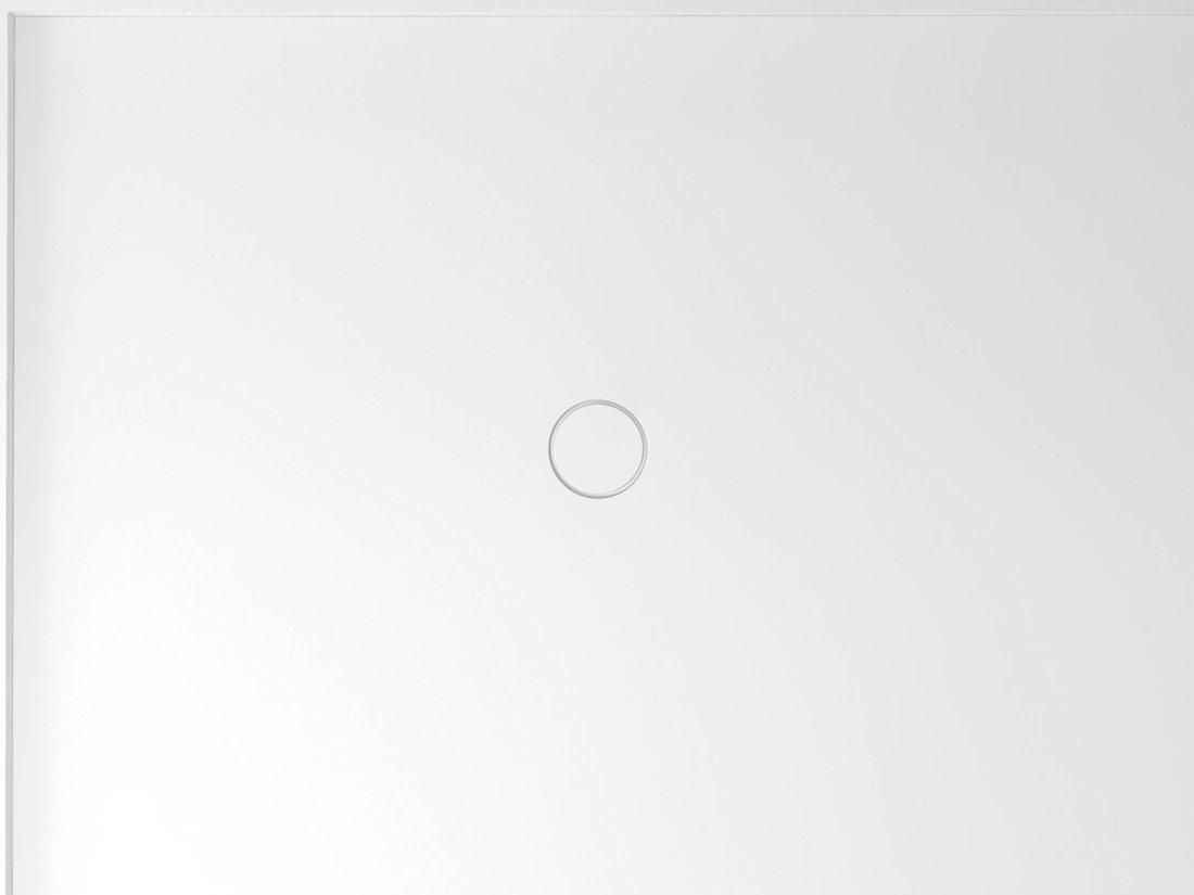 MIRAI sprchová vanička z litého mramoru, obdélník 120x90x1,8cm, levá, bílá