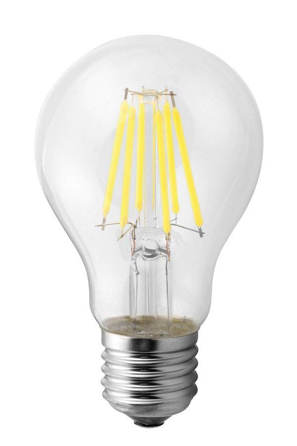 LED žárovka Filament 6W, E27, 230V, denní bílá, 800lm