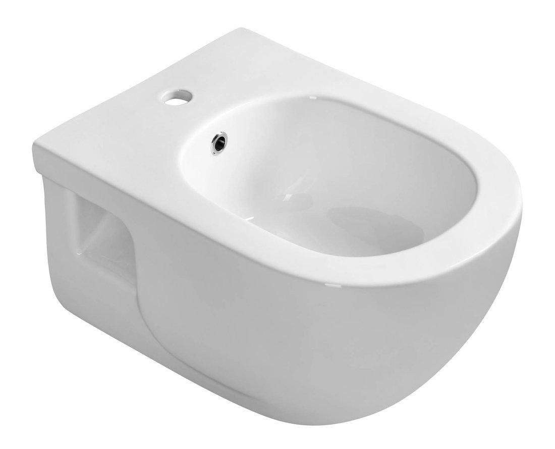 BRILLA bidet závěsný, 36,5x53 cm, bílá