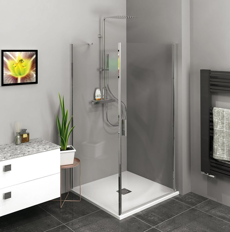 Zoom Line čtvercový sprchový kout 700x700mm L/P varianta