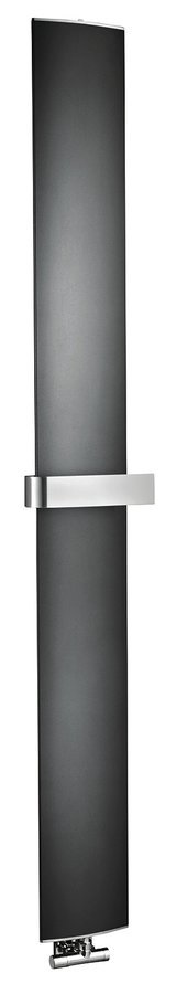 OTHELLO MONO SLIM otopné těleso 300x1890 mm, černá matná
