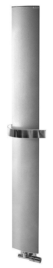 OTHELLO MONO SLIM otopné těleso 300x1890 mm, metalická stříbrná