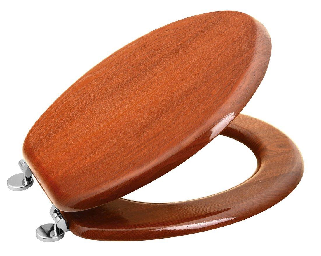 AQUALINE WC sedátko, MDF, třešeň