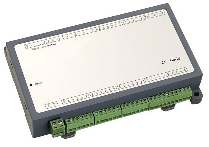 Ovládací jednotka k dotykovému displeji s LCD modulem