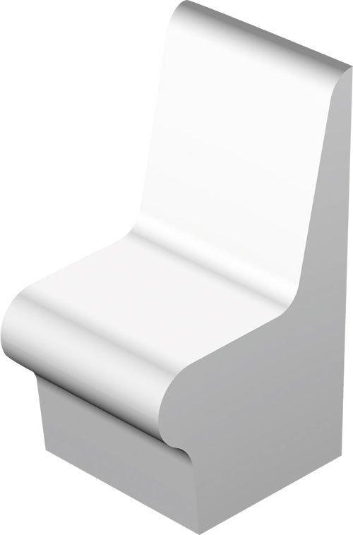 Sedák s opěradlem vyhřívaný 100x98,5x59 cm