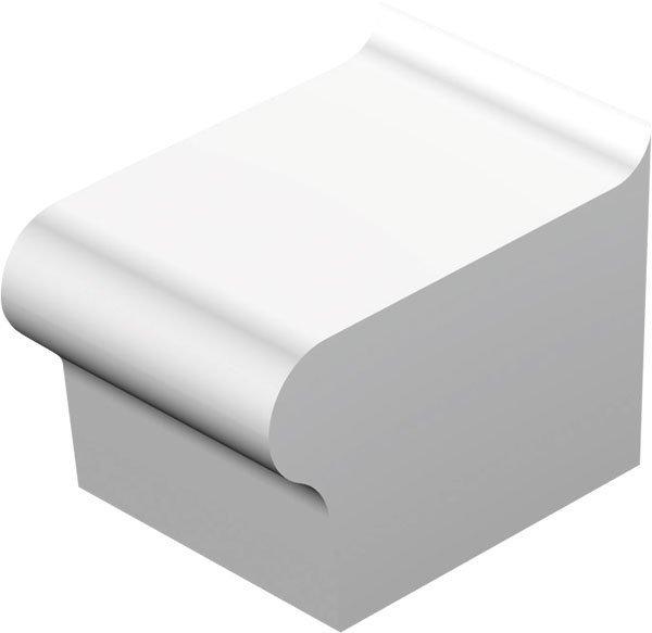 Sedák bez opěradla hluboký s možností ležení 100x53x70 cm