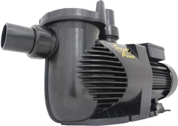 Čerpadlo s předfiltrem SuperPower 1480 W, 220 V/50 Hz, Qmax.483 l/min