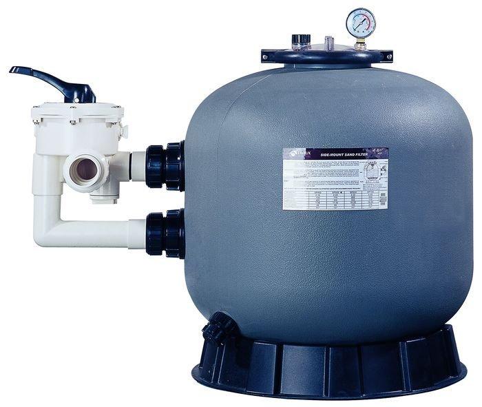 Filtrační nádoba 627 mm, max.15,3 m3/h., 6-ti cestný boční ventil