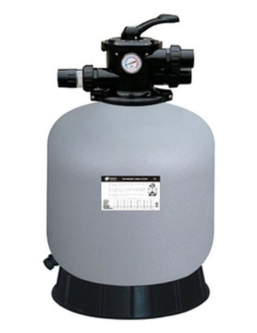 Filtrační nádoba 450 mm, max.7,80 m3/h.,TOP 6-ti cestný ventil