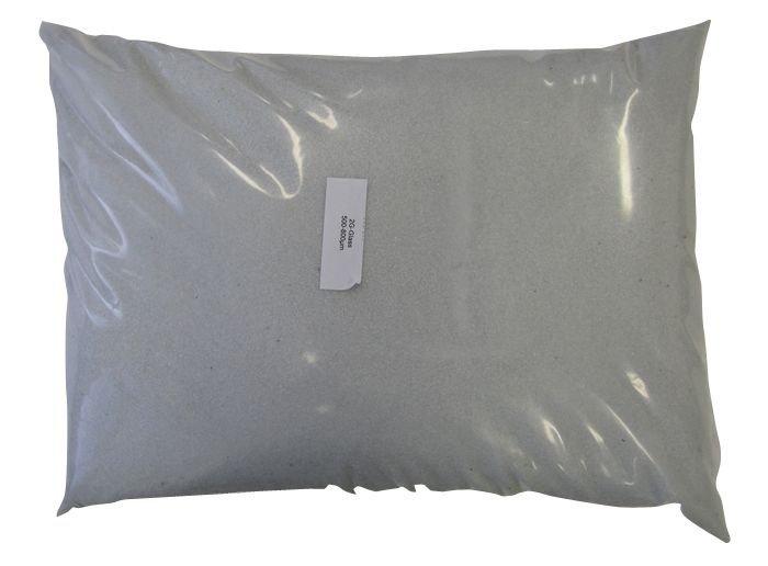 Filtrační sklo 0,5-0,8 mm pro bazénovou filtraci, balení po 25 kg