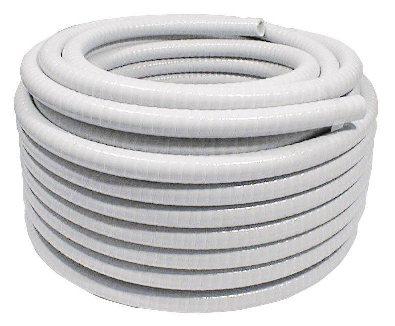 Flexibilní hadice 50/40 mm, PVC bílá, 1m