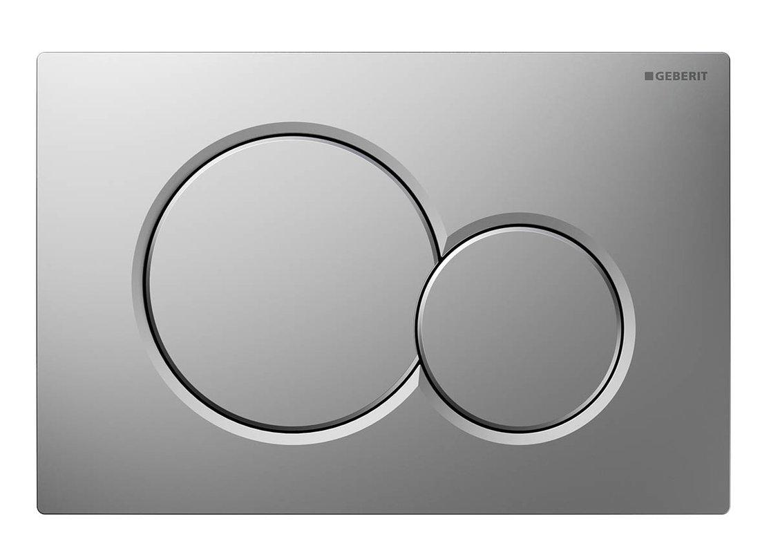 GEBERIT SIGMA01 ovládací tlačítko, pro 2 množství splachování, chrom mat