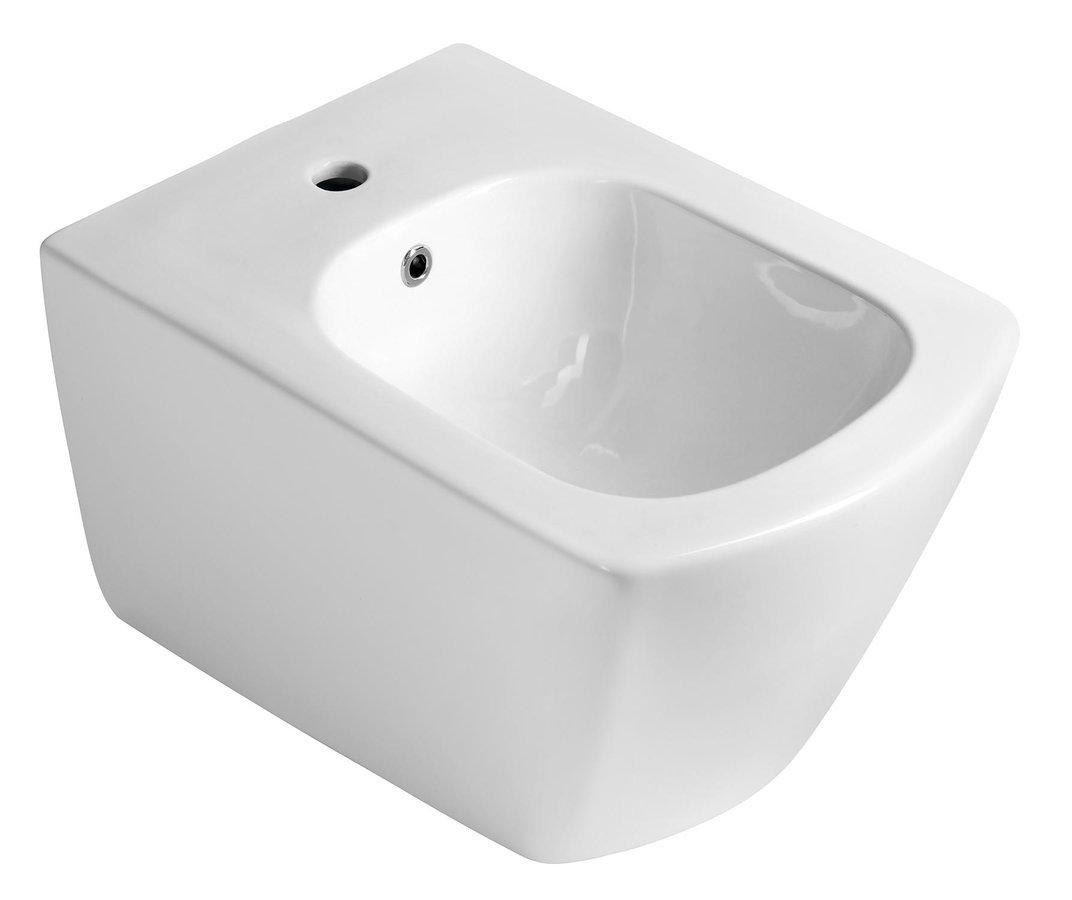 GLANC bidet závěsný, 37x51,5 cm, bílá