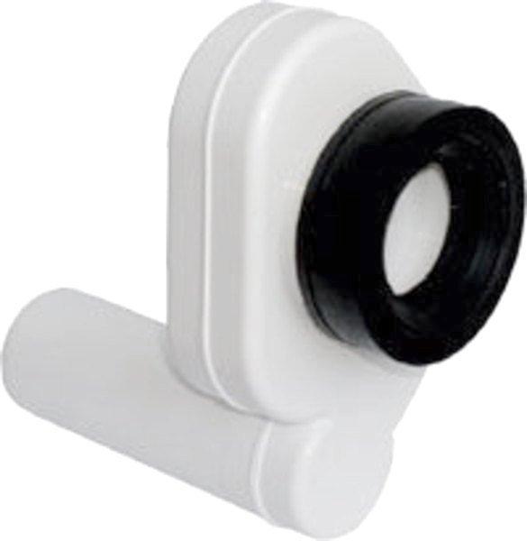 Pisoárový sifon zadní, odsávací, odpad 50mm, plast