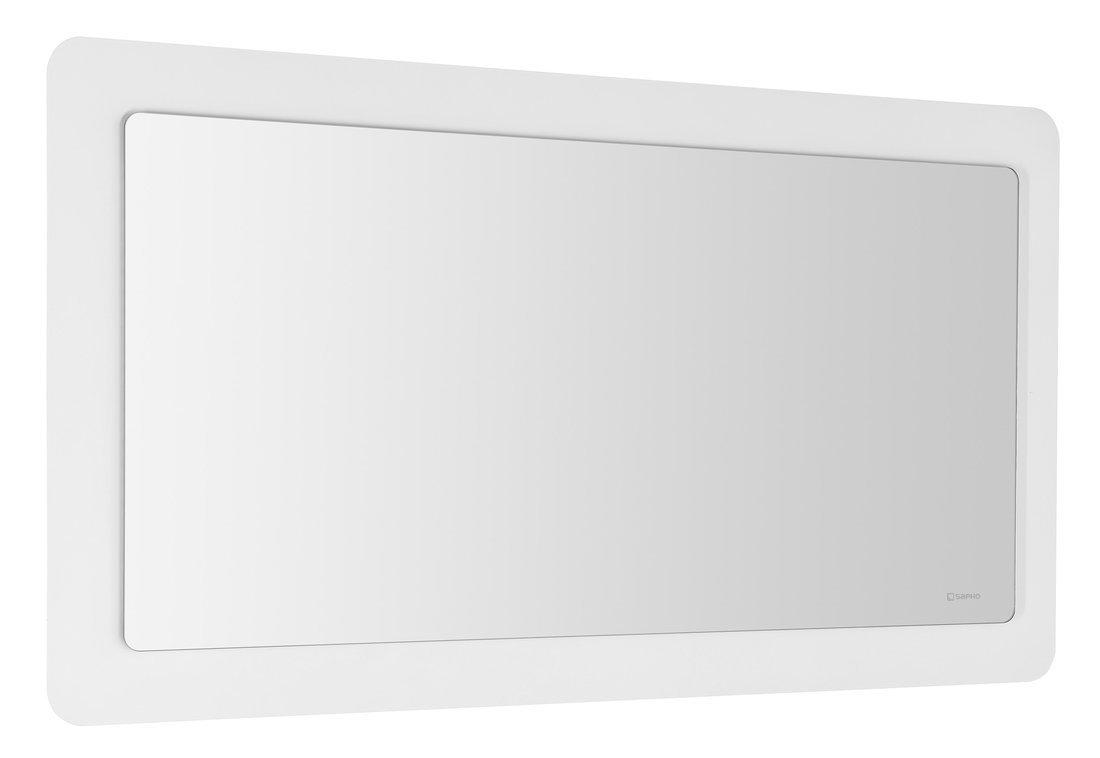 LORDE LED podsvícené zrcadlo s přesahem 1100x600mm, bílá