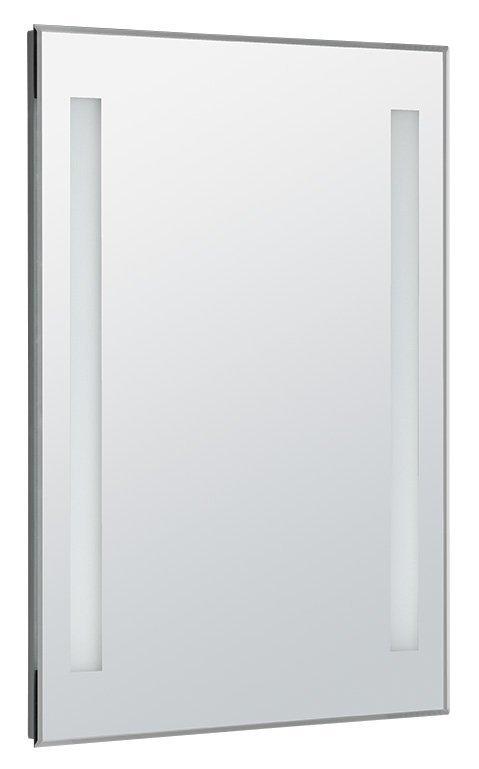 LED podsvícené zrcadlo 50x70cm, kolíbkový vypínač