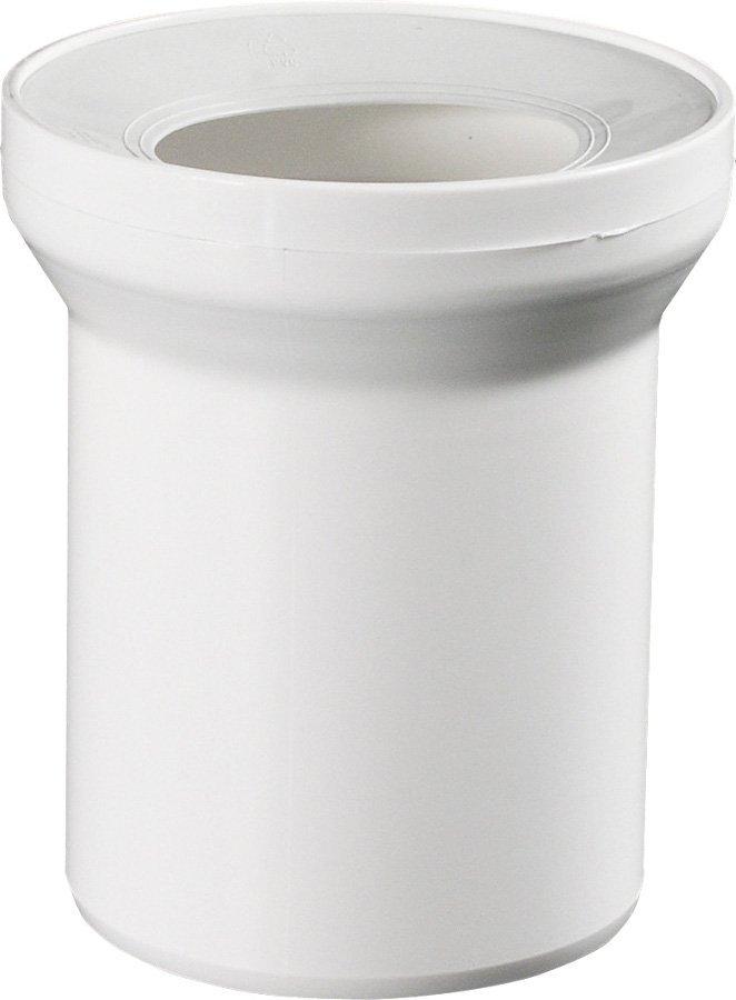 Přímý kus odpadní k WC prům. 110 mm, délka 150 mm