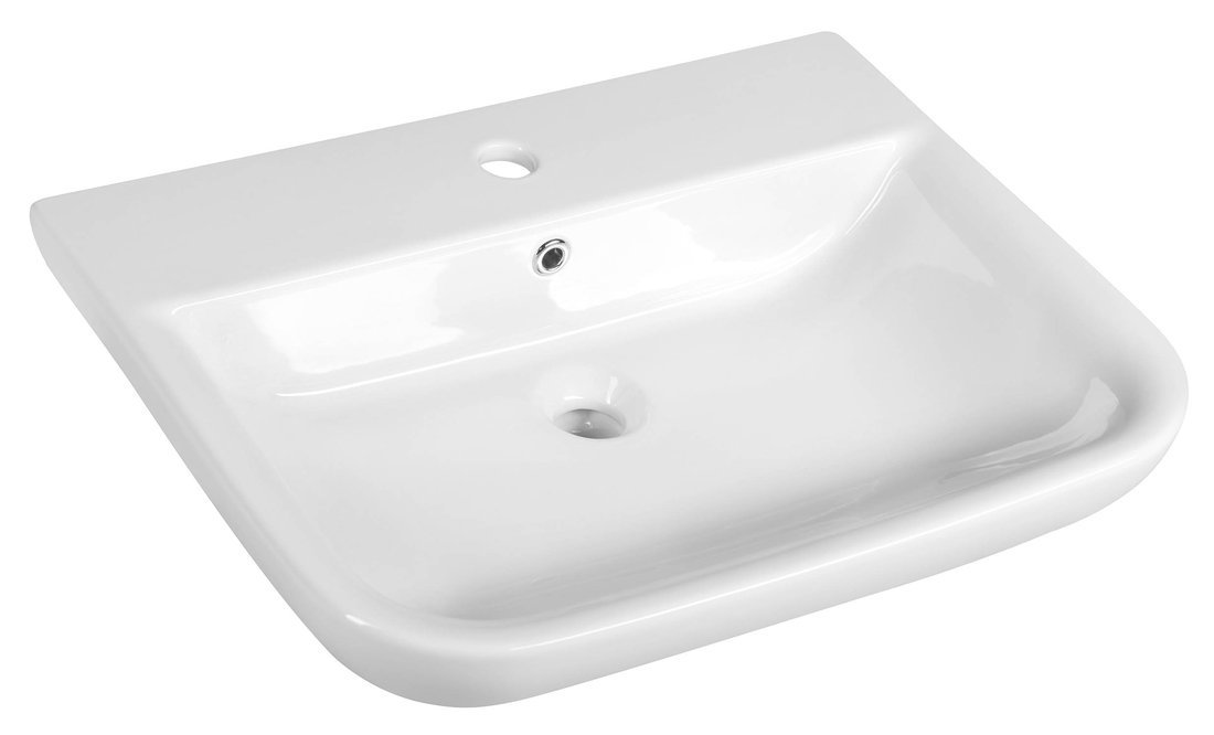 DORI keramické umyvadlo 60x48 cm, bílá