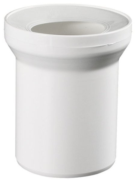Přímý kus odpadní k WC prům. 110 mm, délka 400 mm