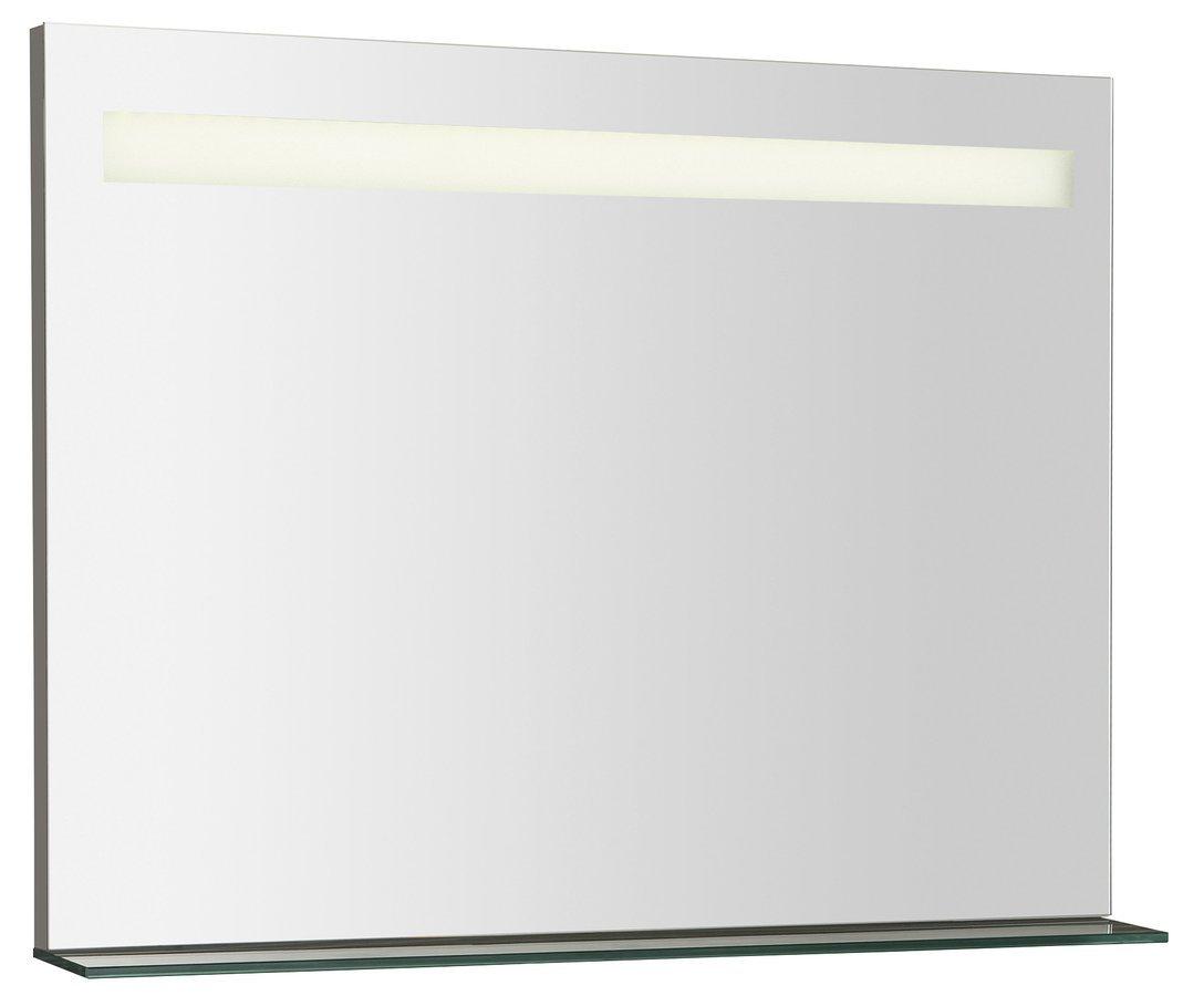 BRETO LED podsvícené zrcadlo s policí 800x608mm