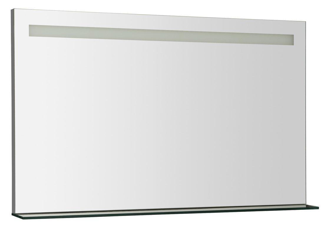 BRETO LED podsvícené zrcadlo s policí 1000x608mm
