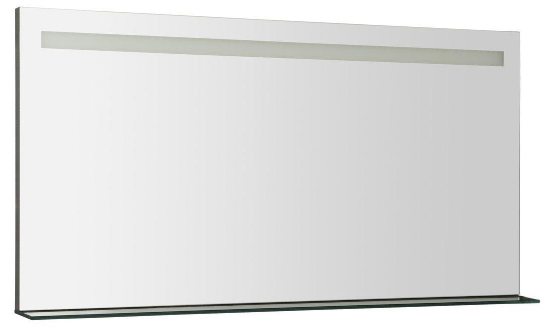 BRETO LED podsvícené zrcadlo s policí 1200x608mm