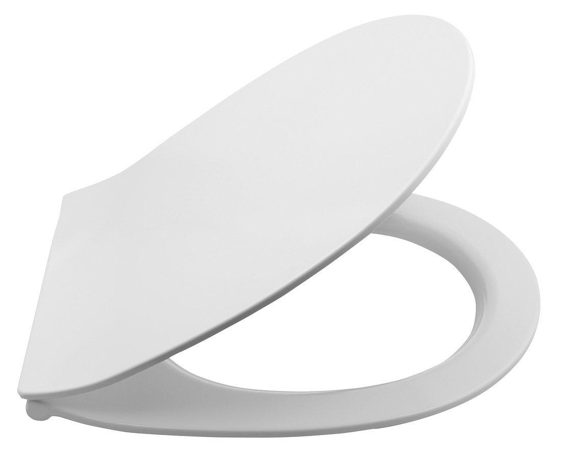 WC sedátko SLIM, soft close, duroplast, bílá (serie Sentimenti, Soluzione)