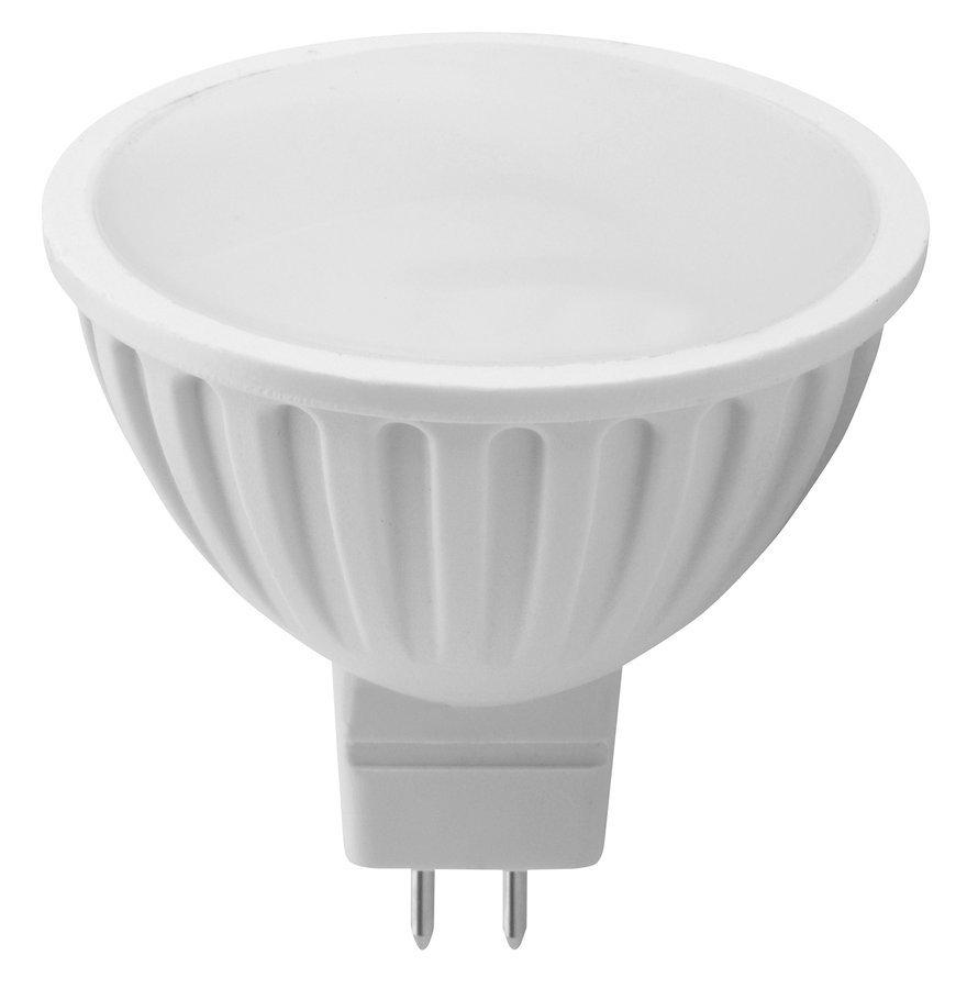LED bodová žárovka 6W, MR16, 12V, denní bílá, 480lm