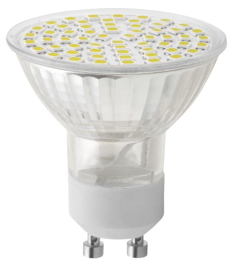 LED bodová žárovka 6W, GU10, 230V, denní bílá, 410lm