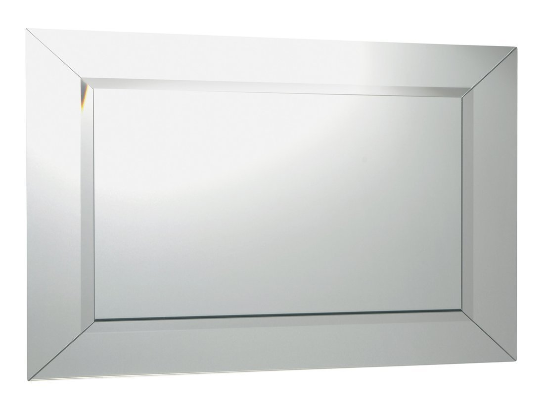 ARAK zrcadlo s lištami a fazetou 90x70cm
